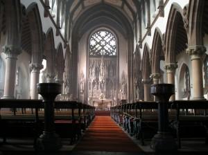Inside St Mary's Shrine