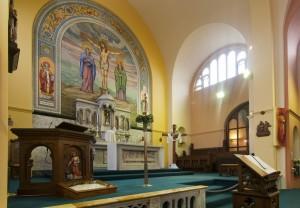 Altar in St Benedict's