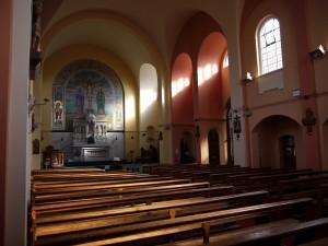 Inside St Benedict's